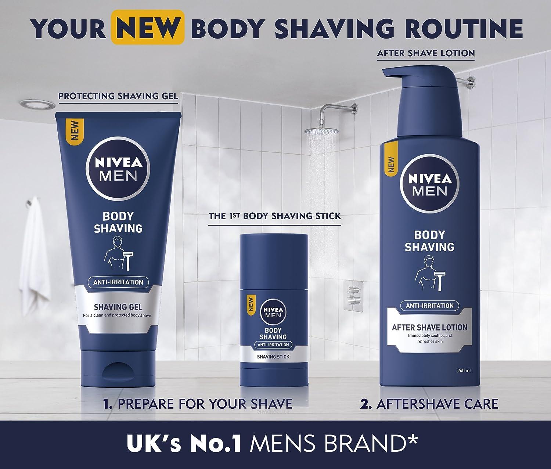 NIVEA Men - Loción para afeitado corporal antiirritación después ...