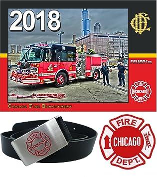 new product 8b27b 77ecf Kit : Chicago Fire 2018 Calendrier/Ceinture/Standard de ...