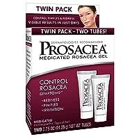 Prosacea Medicated Rosacea Gel - Controls Rosacea Symptoms of Redness, Pimples &...