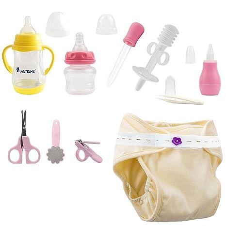 Lantelme 5974 Baby erstlings Equipamiento Set Baby Set de Cuidado, Baby Pañales de entrenamiento y