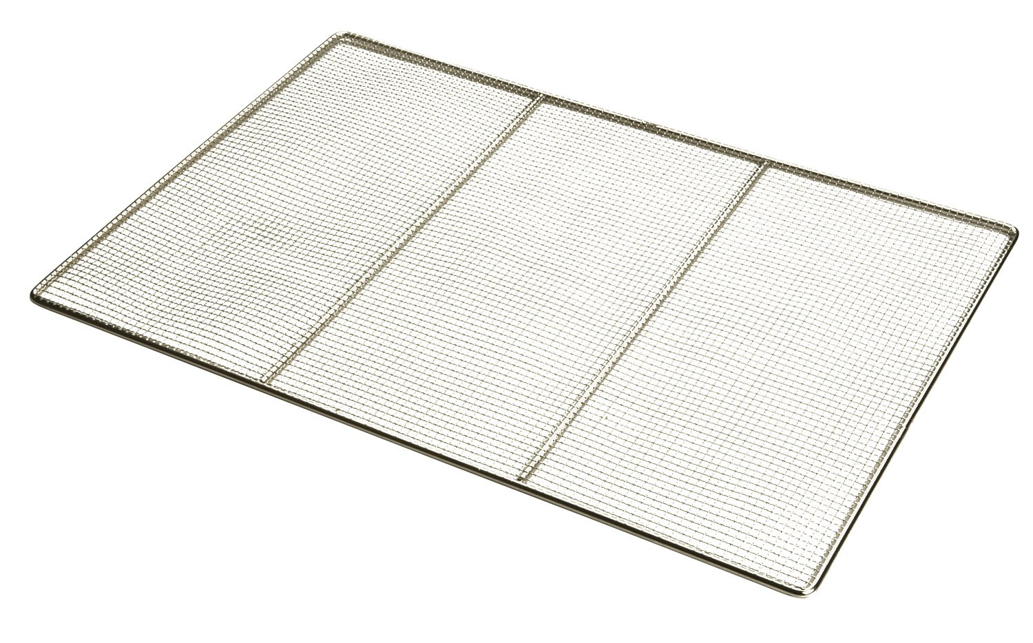 Focus Foodservice 17 by 25-Inch Woven Stainless Steel Fryer Grate
