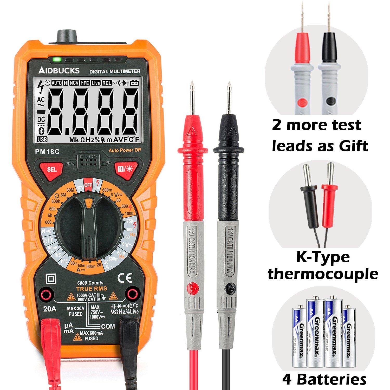 Multímetro Digital Profesional Janisa PM18C DC / AC Voltaje