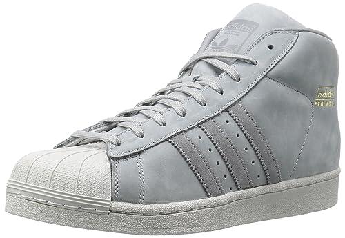 low priced a0c6b 4c39a Adidas PRO Model, Sneaker Uomo Grigio Mid GreyGrey ThreeGrey One