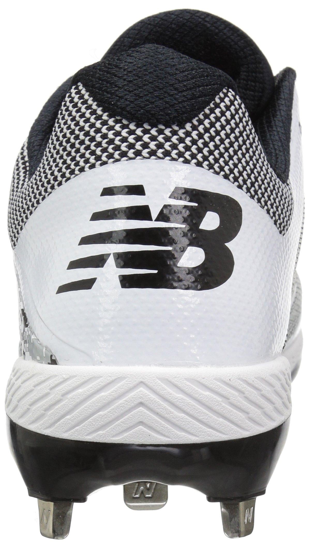 New Balance Men's L4040v4 Metal Baseball Shoe, Silver/Camo, 7.5 2E US by New Balance (Image #2)