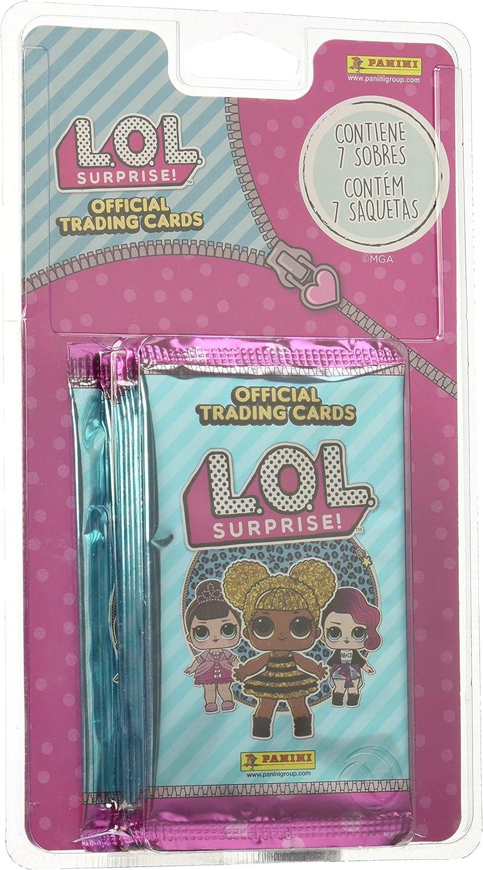Panini LOL Surprise - Blisters de 7 sobres con cartas (003678BLIE): Amazon.es: Juguetes y juegos