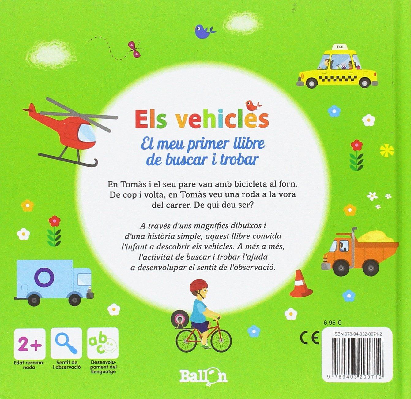 Els Vehicles El meu primer llibre de buscar i trobar: Amazon.es ...