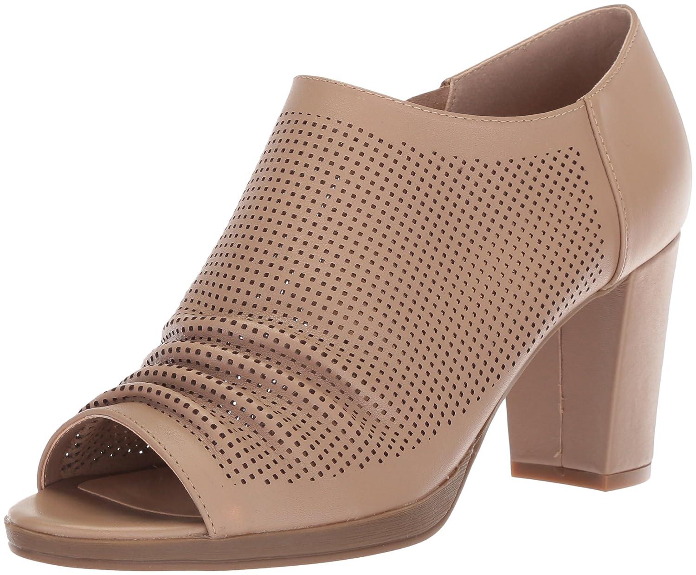 Bella Vita Women's Liza Platform B078387GL5 9 B(M) US|Nude Leather