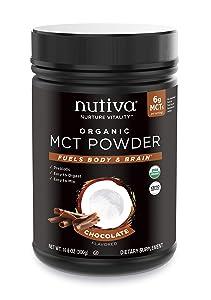 NUTIVA POWDER MCT CHOCOLATE,, 10.6 Ounce ()