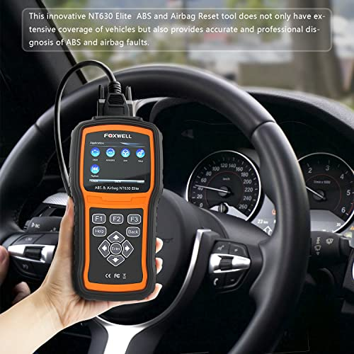 Elite airbag ABS diagnostic tool
