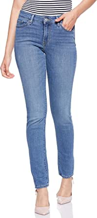 Levi's womens Ljeans Levi's Ripped Jeans for Women - Blue
