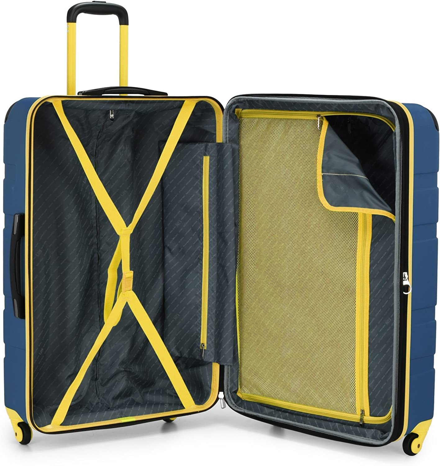 U.S Traveler Sky High Expandable Hardside Spinner Luggage