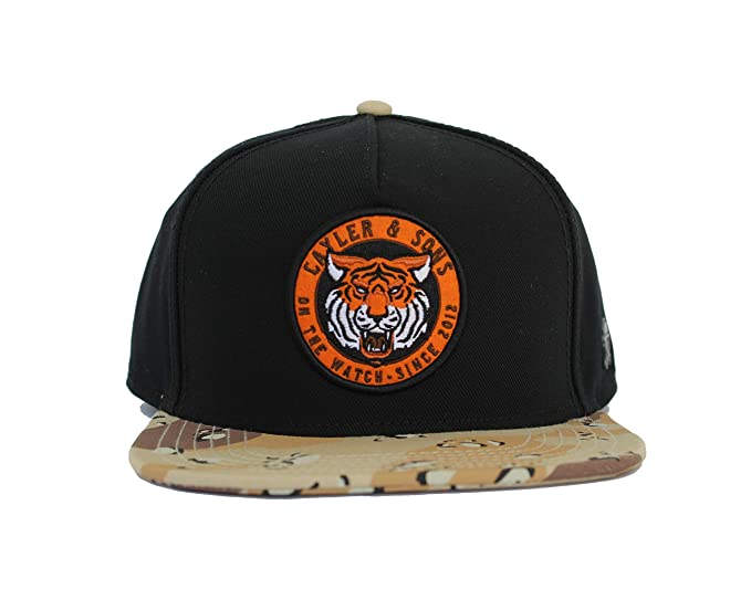 Cayler & Sons Gorras The Watch Black/Desert Camo Snapback: Amazon ...