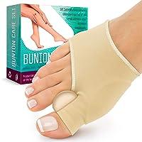 Bunion Splint Bunion Corrector - Big Toe Straightener - Corrector Bunion for Sport - Bunion Socks for Hallux Valgus Bunion Pain Relief