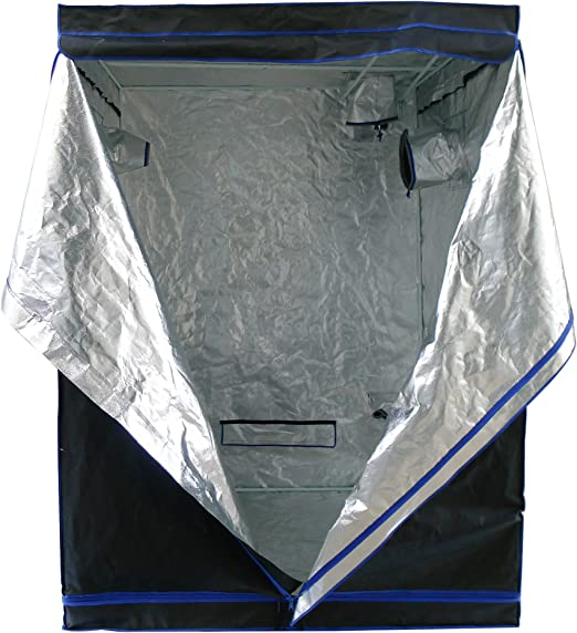 Hydroplanet B019J3FPNU Mylar Hydroponic Extra-Thick Canvas Grow Tent - Extra-Thick Canvas