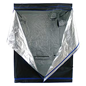 Hydroplanet™ 60x60x80 Mylar Hydroponic Grow Tent for Indoor Plant Growing (60x60x80)