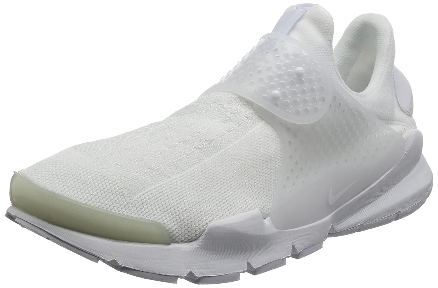 NIKE Men's Sock Dart Running Shoe B06WWG3DFT 11 D(M) US|White/White-white-black
