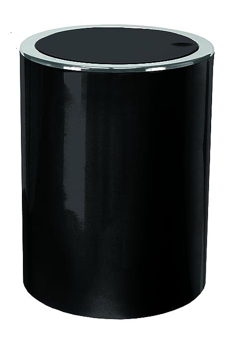 8 opinioni per Kleine Wolke 5829926858 Cap- Pattumiera per bagno, da 5 litri, colore: nero