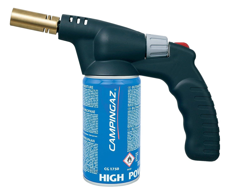ergonomischem Griff f/ür Einhandbenutzung 23 x 21,5 x 7,5 cm Campingaz GAZTH2000 L/ötlampe TH2000 inkl