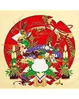 《DM便対応》 (キステ)Kisste 彩時記 小風呂敷 5-4-00275