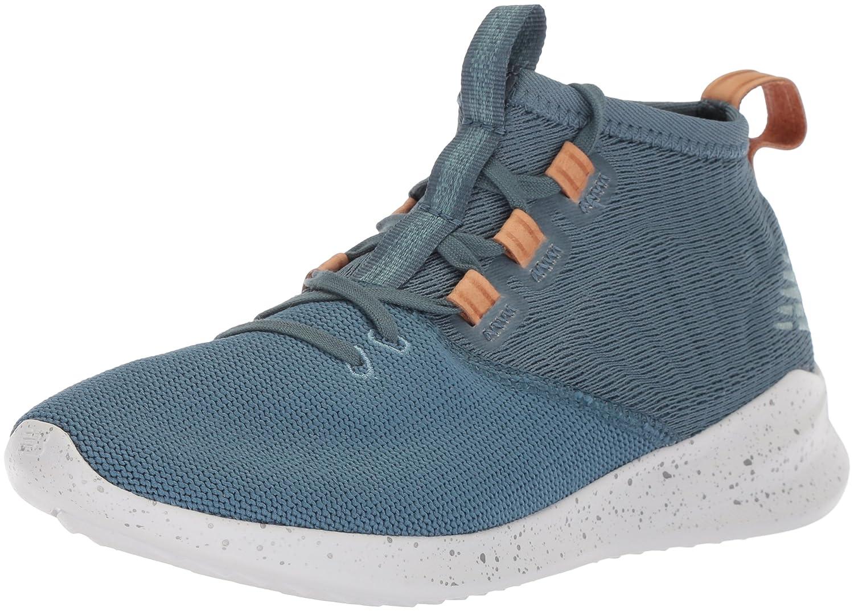 New Balance Women's Cypher V1 Running Shoe B0751Q8TNB 8.5 B(M) US|Light Petrol/Veg Tan Leather
