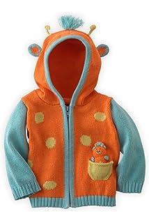 Joobles Fair Trade Organic Baby Cardigan Sweater Pip The Dog