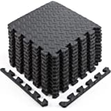 Sportneer Puzzle Exercise Mat with EVA Foam Interlocking Tiles for MMA, Exercise, Gymnastics and Home Gym Protective Flooring