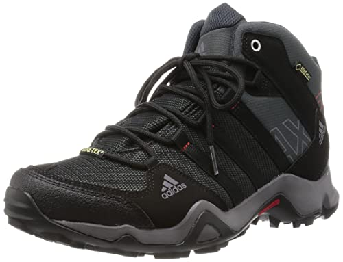 adidas AX2 Mid GTX, Men's High Rise Hiking Shoes, Black, 10.5 UK