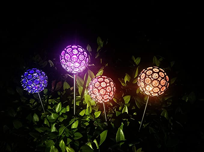 Luces solares para decoración de jardín – luces solares decorativas para jardín para exteriores: Amazon.es: Iluminación