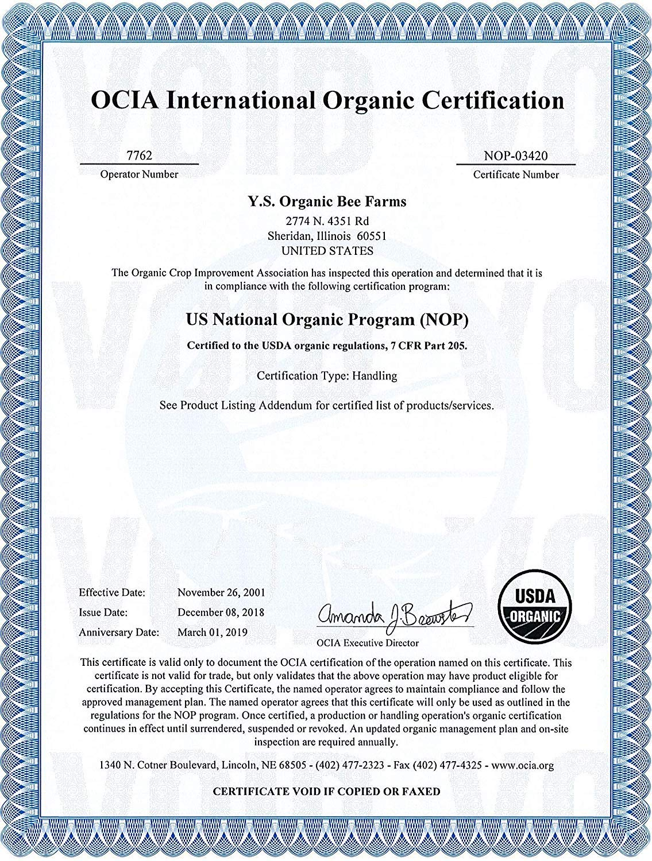 Amazon.com: Y.S. - miel orgánica natural, 100 ...