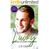Lucky: A Friends to Lovers MMM MPreg (WTF Book 3)