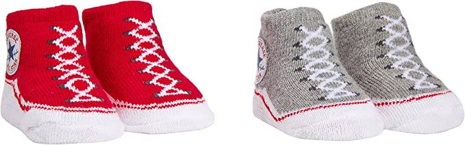 Converse Baby All Star Knit Booties And Hat 2 Piece Set Navy