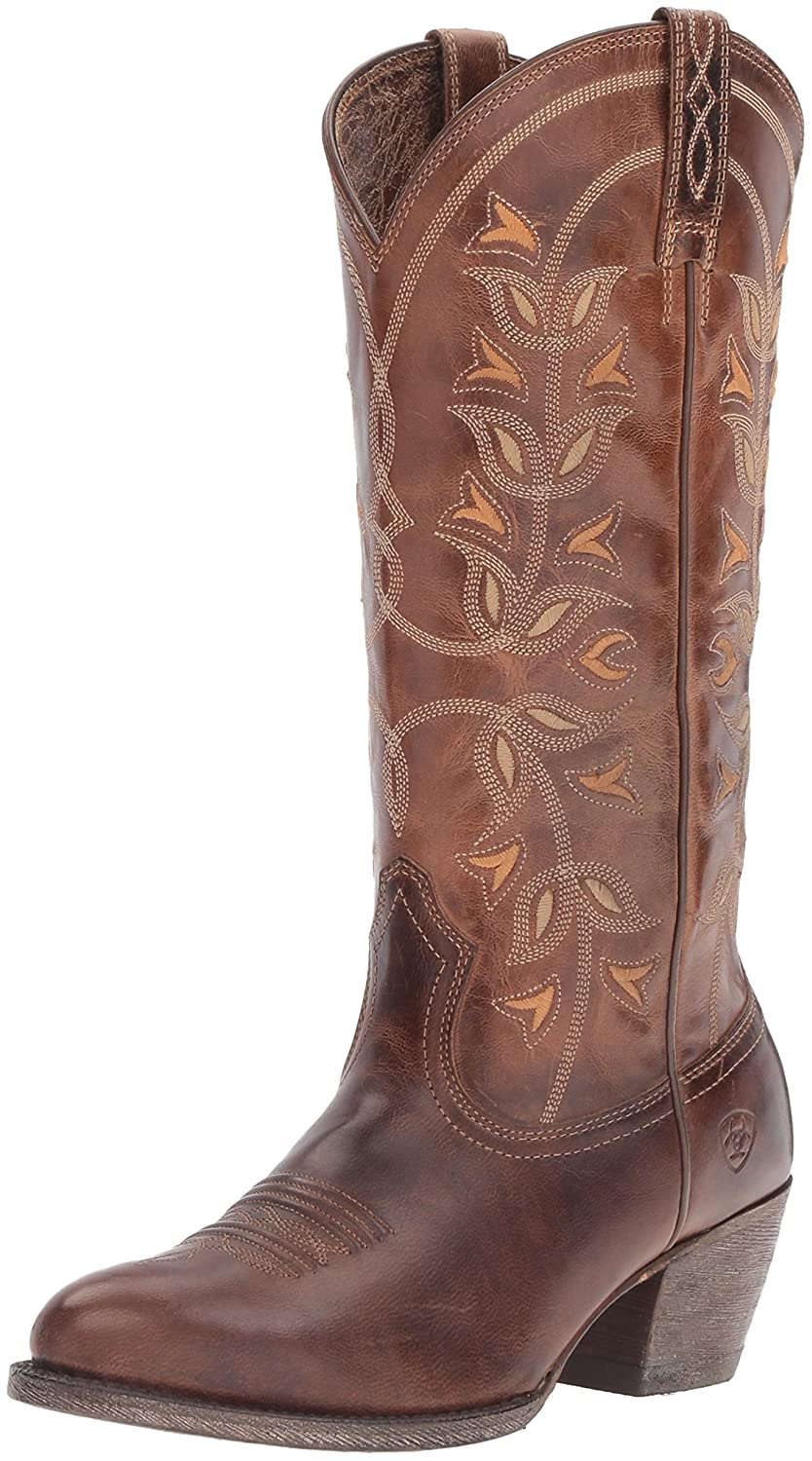 Ariat Women's Desert Holly Western Cowboy Boot B00IM7DHIK 6.5 B(M) US|Pearl
