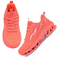 APRILSPRING Womens Walking Shoes Running Fashion Non Slip Type Sneakers