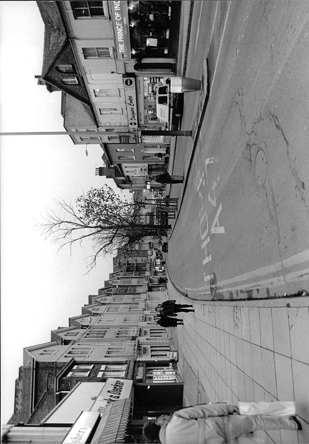 Amazon com vintage photo of roads and street prince of wales road entertainment collectibles