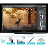 Huion GT-220 V2 8192 Pen Pressure Graphics Drawing Monitor 21.5 inch HD Pen Display Digital Drawing Tablet Monitor - Black