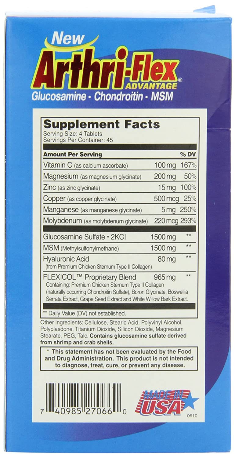 Amazon.com: 21st Century Arthriflex Advantage Tablets, 120 Count: Health & Personal Care