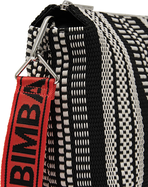 Bimba y Lola 192BBCD2H - Bolso bandolera (talla M), color gris: Amazon.es: Zapatos y complementos