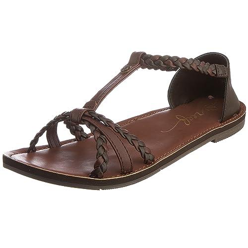 Reef Naomi, Women Heels Sandals, Brown (Brown), 3 UK (35