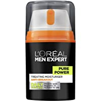 L'OREAL PARIS L'Oréal Men Expert Pure Power Moisturizer, 50 ml