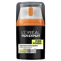 L'OREAL PARIS L'Oréal Men Expert Pure Power Moisturizer, 50 Gram