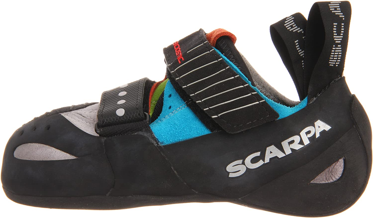 SCARPA Boostic US/Women's Climbing Shoe B007HUOXYA 43 EU/Men's 10 M US/Women's Boostic 11 M US|Cyan/Spring 6c0354