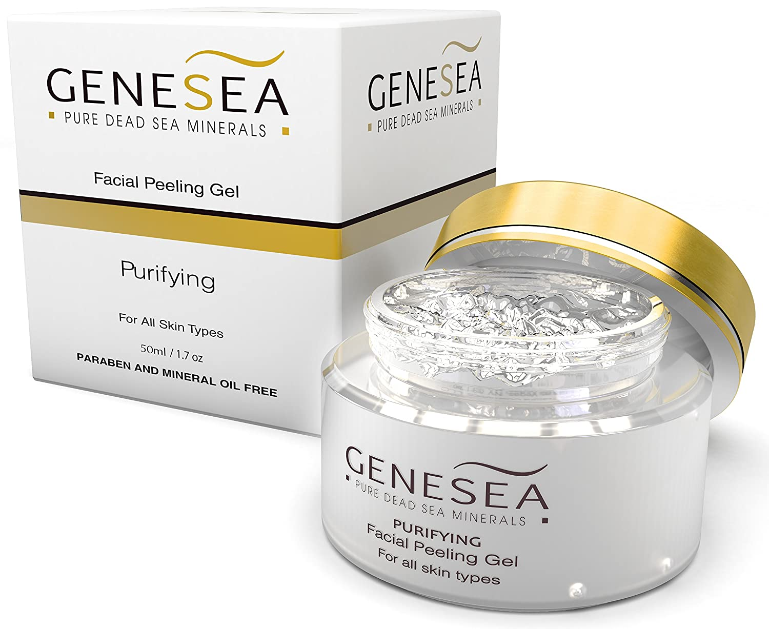 Facial peeling gel