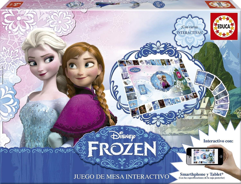 Educa Borrás- Frozen Juego de Mesa, 2 X 100 Piezas (16219): Amazon ...