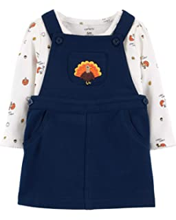 Bonnie Jean Girls Turkey Pilgram Hat Thanksgiving Party Outfit 2T 3T 4T New