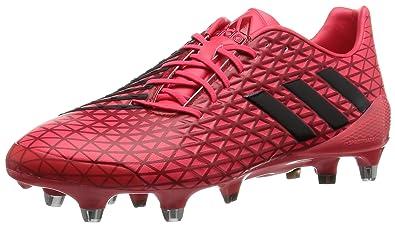 adidas Predator Malice SG, Scarpe da Rugby Uomo, Rosso