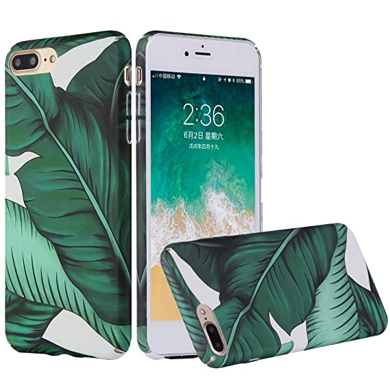 banana leaf iphone 8 case
