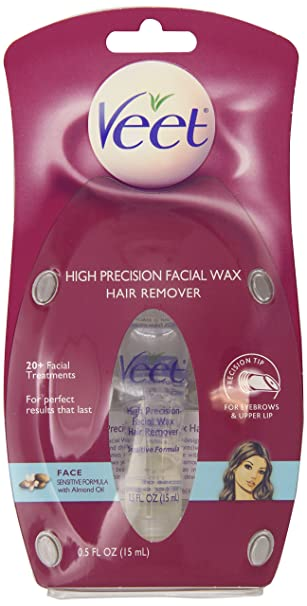 Amazon.com: Veet Wax Facial Cálido, de alta precisión 0,5 ...