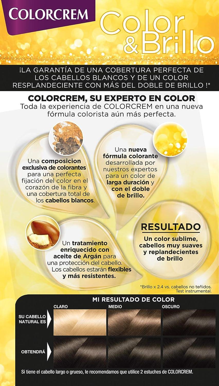 Colorcrem - Tinte permanente mujer - tono 90 Rubio Clarisimo, con tratamiento nutri-protector al aceite de Argán. + 45% de producto   Disponibile en ...