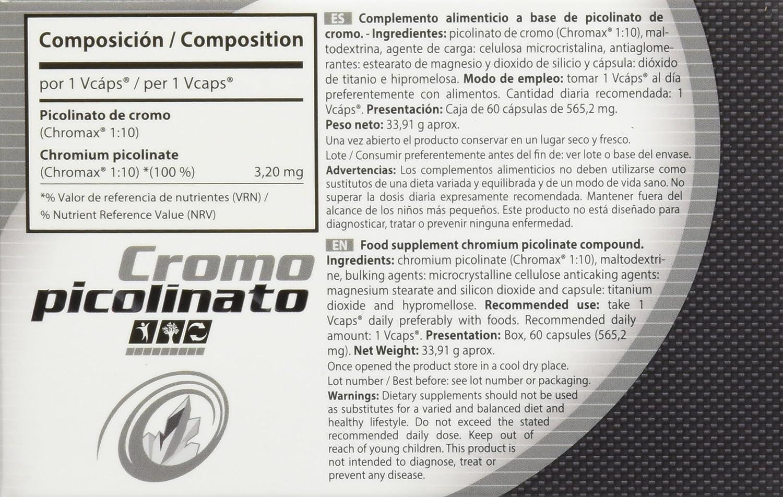 Vitobest Cromo Picolinato 200 Mg - 3 Paquetes de 120 gr - Total: 360 gr: Amazon.es: Salud y cuidado personal