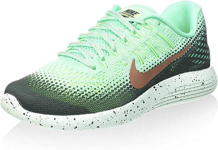 Nike 849569-300, Zapatillas de Trail Running para Mujer, (Green Glow/Mtlc Red Bronze/hasta), 35.5 EU: Amazon.es: Zapatos y complementos